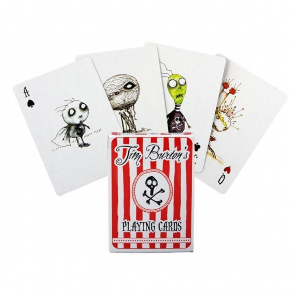 Juego de Cartas Tim Burton Playing Cards Baraja Pocker importadas