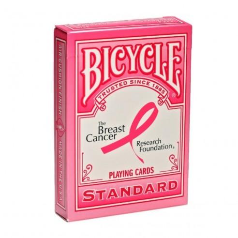 Juego de Cartas Bicycle Breast Cancer Research Foundation Playing Cards Baraja Pocker Original importadas
