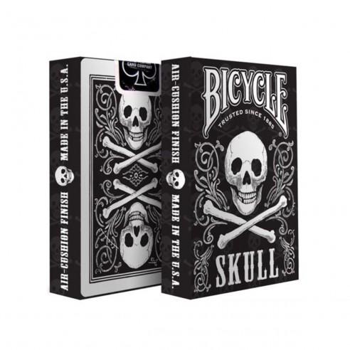 Juego de Cartas Bicycle Skull Playing Card diseño calavera Baraja Naipe Pocker importadas