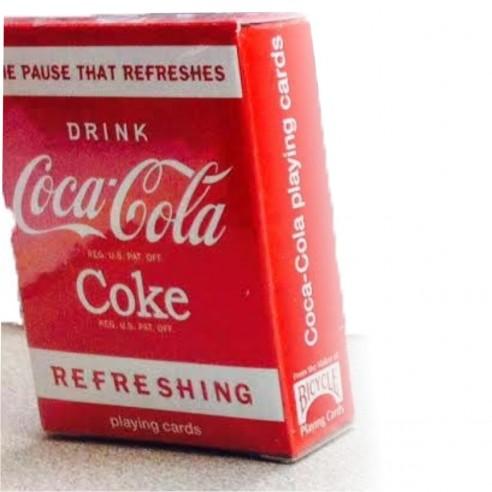 Juego de Cartas Bicycle Mini de Coca Cola Playing Card