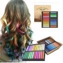 Caja de 48 Tizas tinte temporal Hair Chalk para Cabello Mecha Mechones