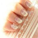 Kit Encajes 3D Bordes adhesivos Salon Effects Nail Art