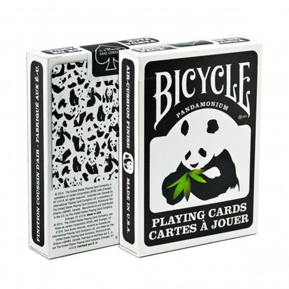 Juego de Cartas Bicycle Panda Playing Cards Baraja poker Originales