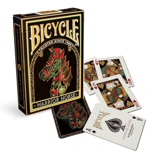 Juego de Cartas Bicycle Warrior Horse Playing Cards Baraja poker Originales