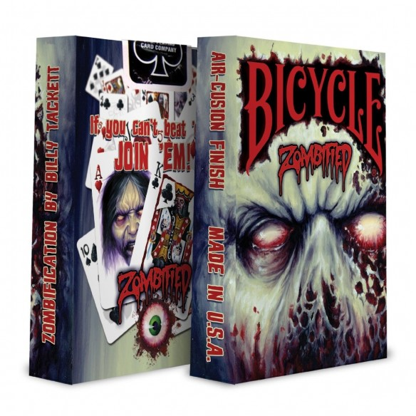 Juego de Cartas Bicycle Zombified Deck Playing Cards Baraja poker Originales