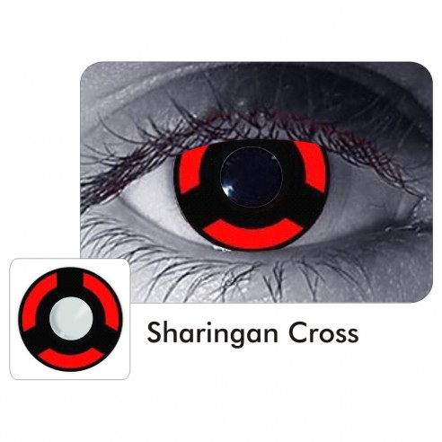 Lentes Locos Cross Sharingan Madara Crazy Lentes Halloween