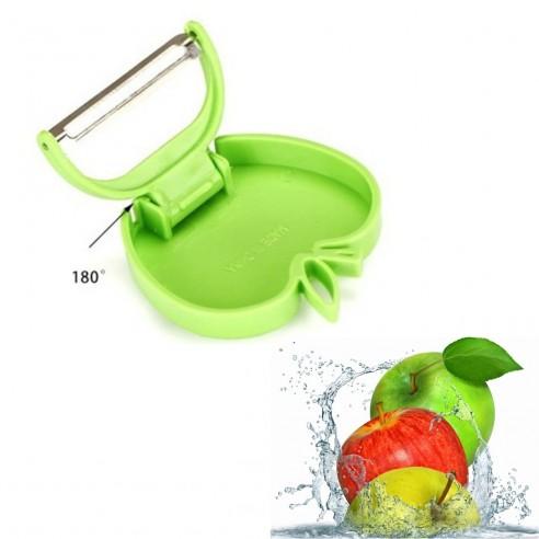 Pelador, Cortador de manzanas fruta easy slicer frutas corta porciona