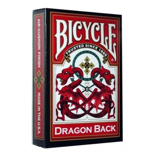 Juego de Cartas Dragon Back Red Cards Baraja Pocker importadas