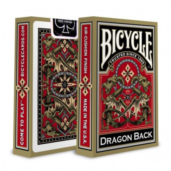 Juego de Cartas Dragon Back Gold Cards Baraja Pocker importadas