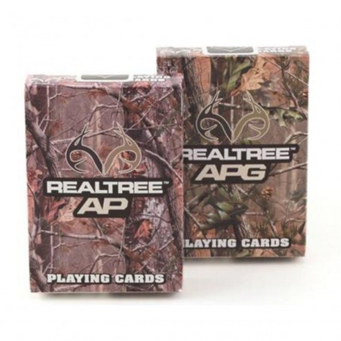 Juego de Cartas Realtree AP Playing Cards Baraja Pocker importadas