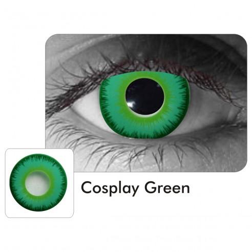 Lentes Locos Cosplay Green Crazy Lentes Halloween