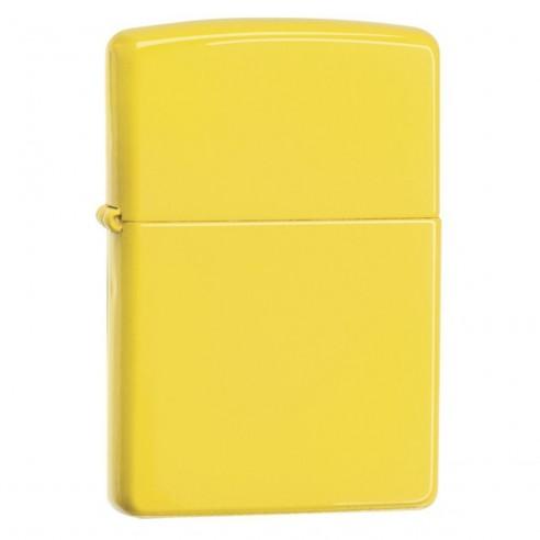Encendedor Zippo Colors Yellow Matte - Amarillo.