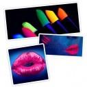 Lápiz Labial Glow Neón Fluo Brilla con la luz UV