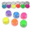 Sombras Pigmento UV Glow colores Neón
