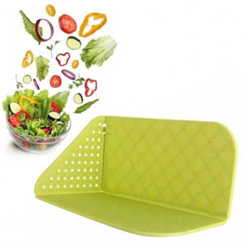 Tabla Plegable Para Picar Alimentos Frutas Verduras y Vegetales