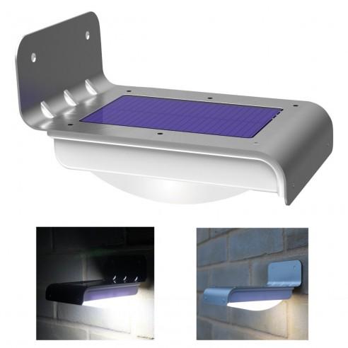 Luz Led Solar con sensor de movimiento para exteriores