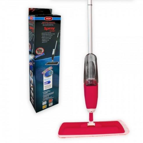 Mopa Spray Mop Trapeador con Rociador Limpiador para pisos