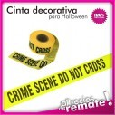 Set X2 Cintas Decorativas Peligro Y Crimen Halloween