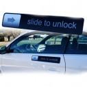 Magnetico Slide to Unlook de Iphone Tunning para carro personaliza iphone