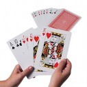 Cartas Pocker Tamaño Jumbo 12X5