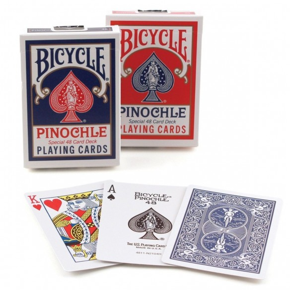 Juego de Cartas Bicycle Pinochle Playing Cards Baraja importadas