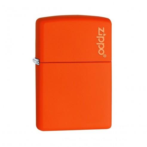 Encendedor Zippo Colors Logo Orange