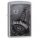 Encendedores Zippo Stamp Jack Daniels Bottle