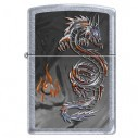 Encendedores Zippo Stamp Triptych Dragon 3