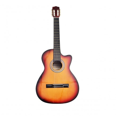 Guitarra Acústica Puntera Premiun Infantil en Cedro