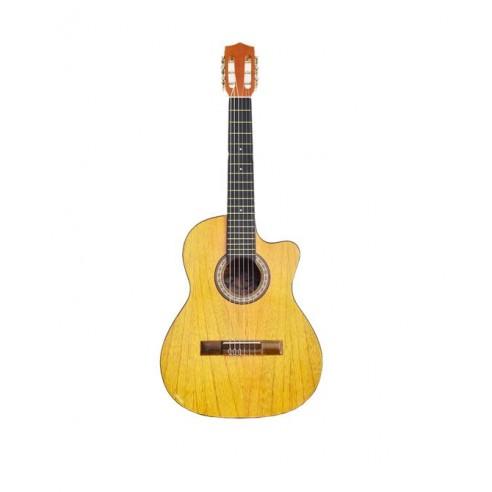 Guitarra Acústica Puntera Premiun Infantil en Cedro Natural