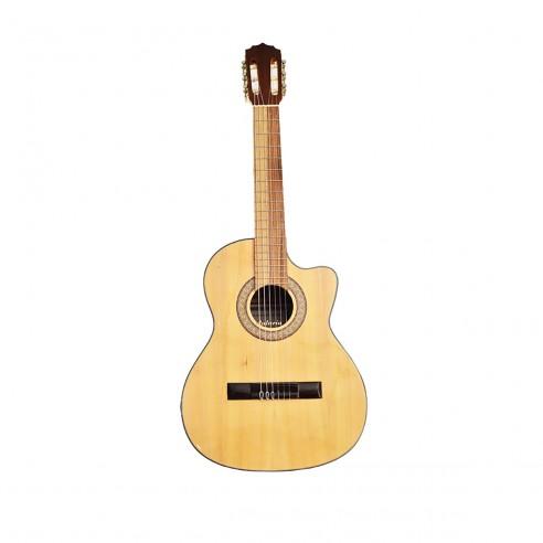 Guitarra Acústica Puntera Premiun Infantil en Pino Ciprés