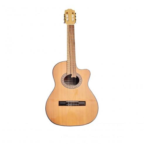 Guitarra Acústica Puntera Premiun Infantil en Pino Abeto