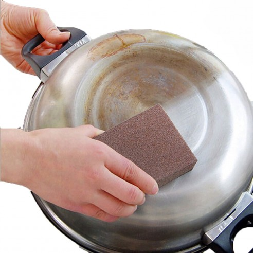 Esponja Mágica para limpieza en la cocina remueve suciedad
