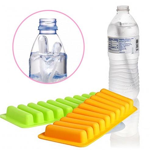 Molde de hielo en barra cilindro para botellas y termos