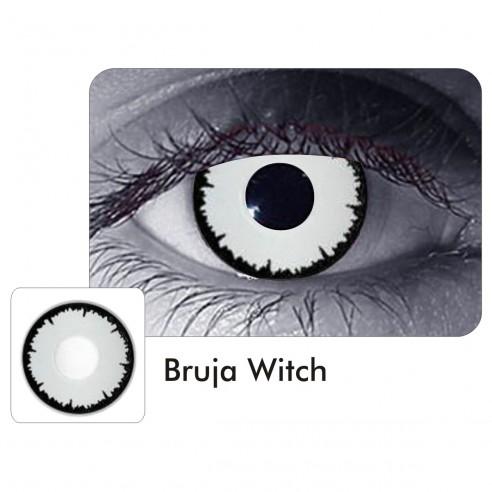 Lentes de Contacto Angelic White Bruja Witch Crazy