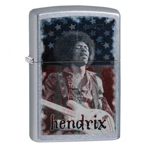 Encendedor Zippo Stamp Jimi Hendrix - Plateado
