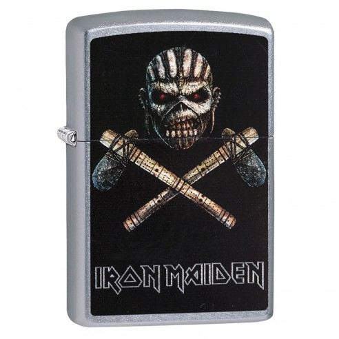 Encendedor Zippo Stamp Zippo Iron Maiden 29434 - Plateado