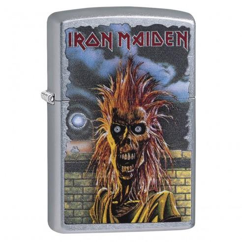 Encendedor Zippo Stamp Zippo Iron Maiden 29433 - Plateado