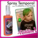 Tintura en Laca Temporal en Colores para Cabello y Mechas Spray Color