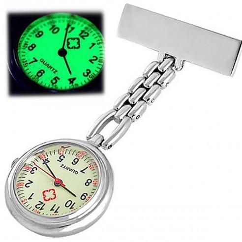 Reloj Enfermera glow in the dark