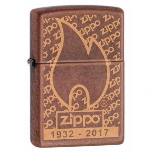 Encendedor Zippo Stamp Blue con Logo 29472 - Azul rey