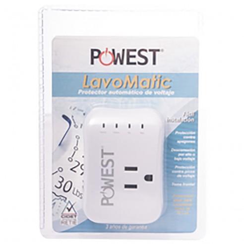 Protector de Voltaje Lavomatic 110V 10 amp