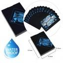Juego de Cartas Naipes pvc Waterproof blue