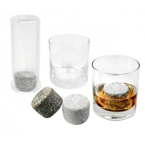 Cilindros de Roca Ice para enfriar el Whisky