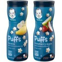 Gerber Puffs Cereal Snack, Banana, Strawberry Apple
