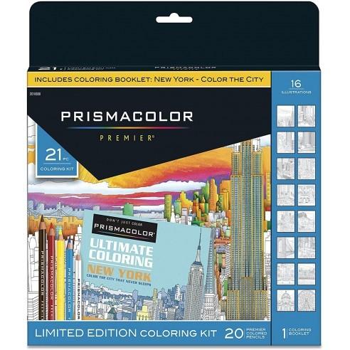 Prismacolor Premier Juego de 21 Unidades. + Libro New York