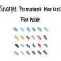 Sharpie Punta Fina Marcador Permanente (24 unidades)