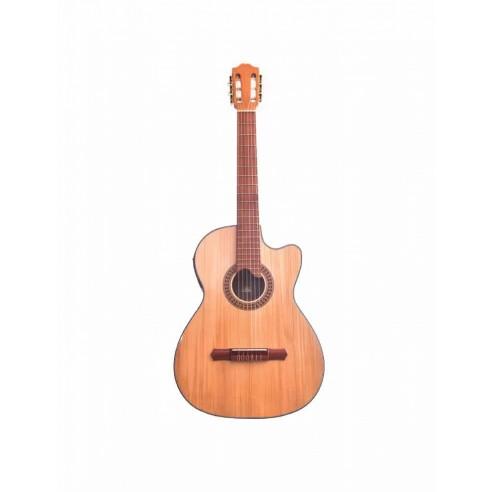 Guitarra Electroacústica Premiun en Pino Abeto Alemán