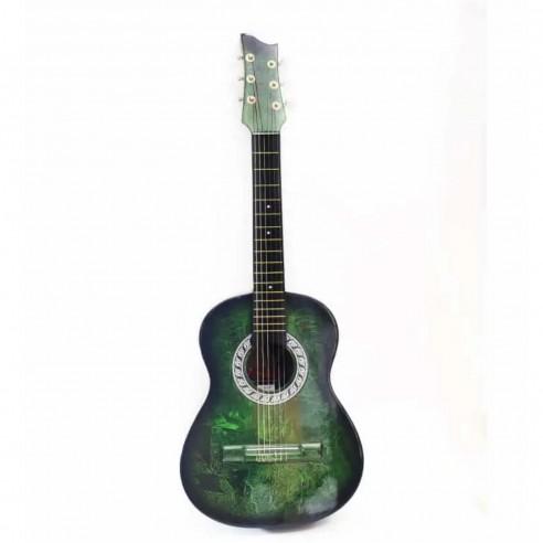 Guitarra Acústica La Clasica Bucaramanga Finos Acabados. Redonda