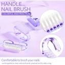Cepillo para Limpieza de Uñas y Manos. Uso diario. Manicure